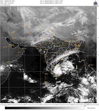 Cyclone Nivar : வங்கக் கடலில் உருவானது நிவர் புயல்...! தீவிரம் அடையும் மழை!