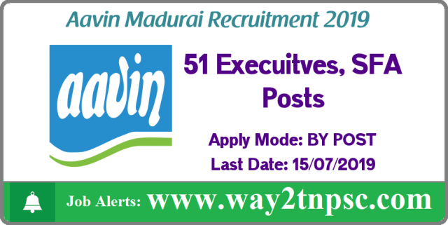 aavin milk madurai recruitment