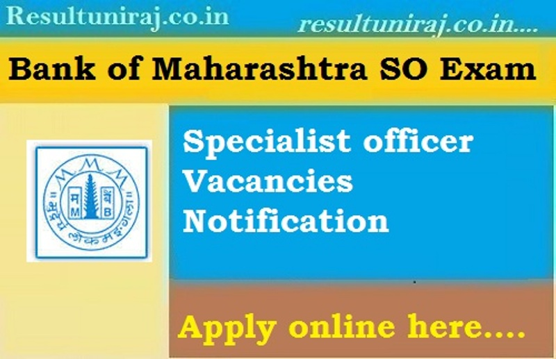 Bank-of-Maharashtra Recruitment