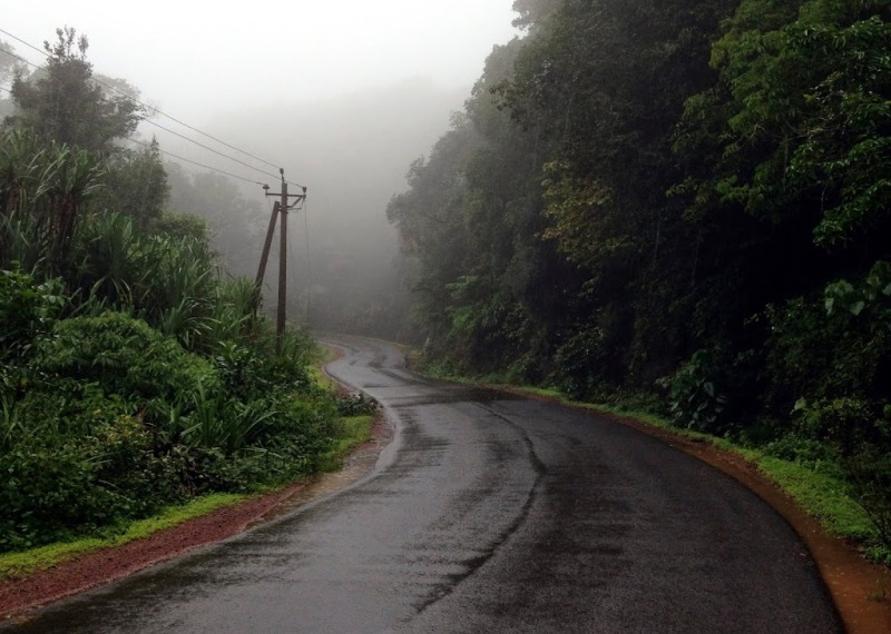 westernghats during rain