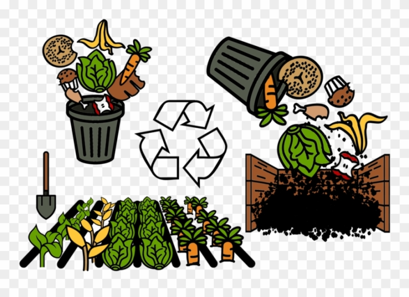 Process of preparing compost waste