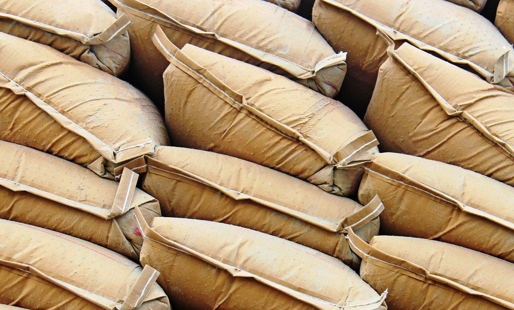 Paddy sacks at Warehouse